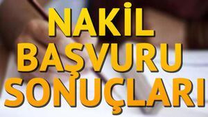 Lise 4. nakil başvurusu E Okul ile tamamlanıyor Nakil sonuçları ne zaman yayımlanacak