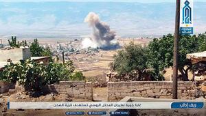 İdlibe hava harekatından sonra rejimden topçu ateşi