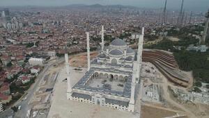 İşte Çamlıca Camii inşaatında son durum