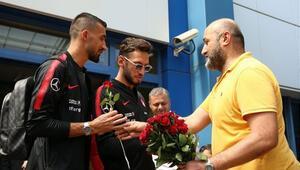 A Milli Futbol Takımı Trabzonda