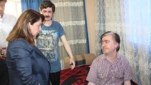 Miletvekili Günay, MS hastasına verdiği sözü tuttu