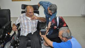 Engellilerin akülü araç sevinci