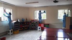 Kareside okullar yeni döneme hazırlanıyor