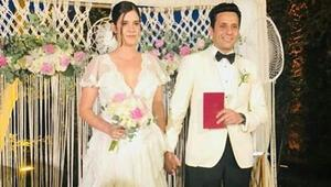 Ferhan Şensoy ile Cem Öğet evlendi