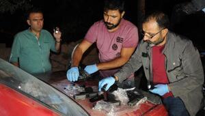 Silah kaçakçıları, deneme amaçlı havaya ateş açıncayakalandı