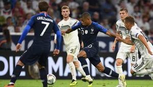 Almanya ile Fransa yenişemedi Golsüz kapışma...