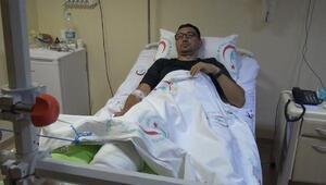 Kaçkarlarda yaralanan doktor dağcı, ilk müdahaleyi kendisi yaptırmış