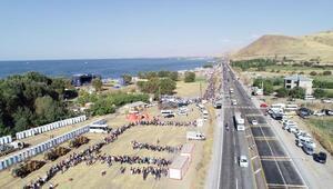 50 bin kişi beklenen GezginFest Van başladı