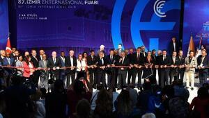 İzmir Enternasyonal Fuarı, 87nci kez kapılarını açtı