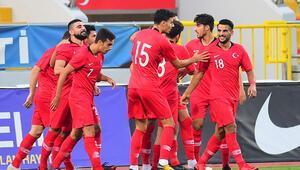 Ümit Milliler, Kıbrıs Rum Kesimini 4-0 mağlup etti