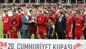 Sivas Cumhuriyet Kupası 9uncu kez Sivassporun