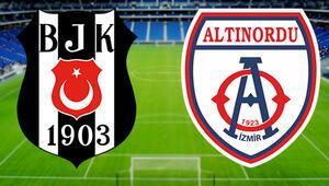 Beşiktaş Altınordu hazırlık maçı ne zaman saat kaçta hangi kanalda