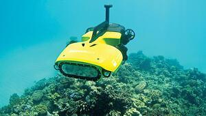 Resİfe 'dalgıç' drone