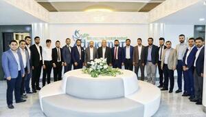Karayel'den Başkan Kutlu'ya ziyaret