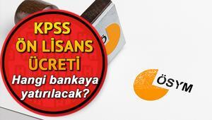 KPSS sınav ücreti nasıl yatırılır İnternetten KPSS Ön Lisans başvuru ücreti yatırma