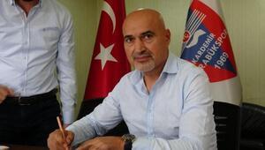 Kardemir Karabüksporun yeni teknik direktörü Levent Açıkgöz oldu