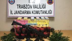 Trabzonda uyuşturucu operasyonu: 1 kişi tutuklandı