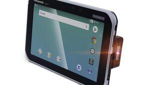 Panasonicten barkod okuyuculu tablet