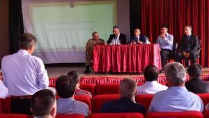 Tuncelide okul güvenlik toplantısı
