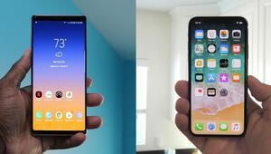 iPhone XS Max mi Galaxy Note 9 mu