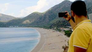 Dünyaca ünlü plaj bu hale geldi... Gören telefonuna sarıldı