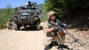 PKKlı teröristler, çaldıkları kuzu etini pişirirken baskın yemiş