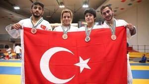 Gençler Avrupa Judo Şampiyonasında 4 madalya birden