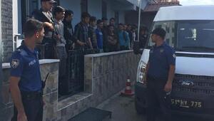 Niğdede insan kaçakçıları tutuklama