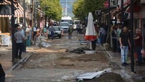 Selin vurduğu Bandırmadaki hasar gün ağarınca ortaya çıktı