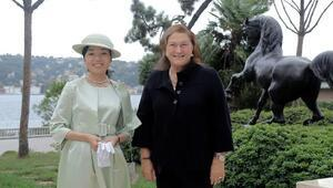 Japonya Prensesi Türk iş dünyasıyla bir araya geldi
