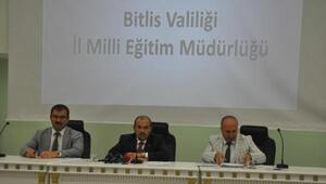 Bitlis'te eğitim güvenliği toplantısı gerçekleştirildi