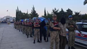 O teröristler yakalandı: Türkiyeye getirildi