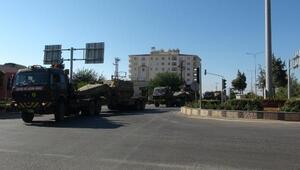 Kilis'te askeri sevkiyat sürüyor