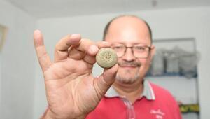 Kemik sapı kalıntılı 4 bin yıllık ağırşak bulundu