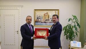 AK Parti Grup Başkanvekili Turandan, Vali Tavlıya ziyaret