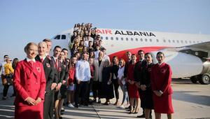 Air Albania ilk uçuşunu İstanbula gerçekleştirdi
