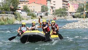 Çatakta Türkiye Rafting Şampiyonasında ikinci gün heyecanı