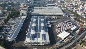 ESHOTun güneş santrali 1.5 milyon kWh enerji üretti