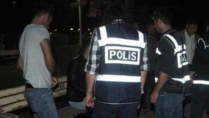 Eskişehirde parklara polis denetimi