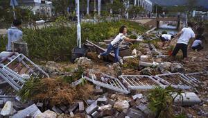 Çinde tayfun: 4 ölü, 200den fazla yaralı