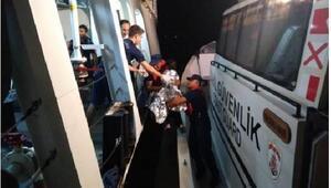 Bodrum açıklarında göçmen teknesi battı: 2 ölü, 1 kayıp, 16 kişi kurtarıldı