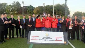 Türk Toplumu Futbol Federasyonu sezonu açtı