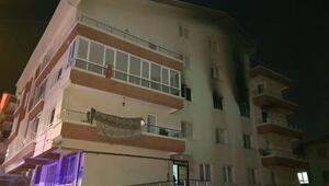 Ailesiyle tartıştı evini ateşe verdi