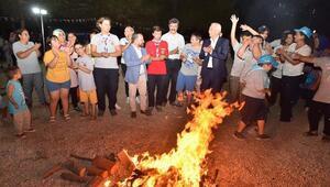 Sarıçam Belediyesi SODES 113 özel çocuk izcilik kampına alındı