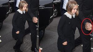 Harper Beckhamın görüntüsü şaşırttı