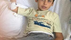 Başına maganda kurşunu isabet eden Osman, iyileşip okuluna gitmek istiyor