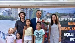 Münir Özkul Kreşi ve Gündüz Bakım Evi açıldı
