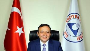"""ERÜ Rektörü Prof. Dr. Mustafa Çalış: Erciyes Üniversitesi'nin başarı çıtası hep yüksekte olacak"""""""