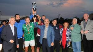 Frankfurt - Eskişehir dostluk kupası Anadolu Üniversitesinin