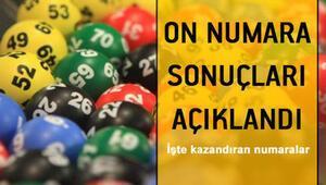 On Numara çekiliş sonuçları açıklandı... 17 Eylül On Numara sonuçları bilet sorgulama sayfası